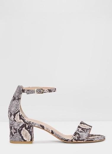 Aldo Villarosa-Tr - Natürel Kadin Topuklu Sandalet Ten